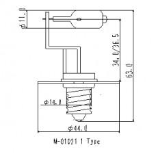 Generic M01021 22-4010 50W 12V E14/SPEC